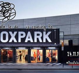 Doodle-le-do at Boxpark