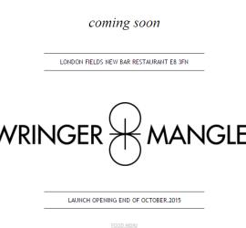 Wringer & Mangle