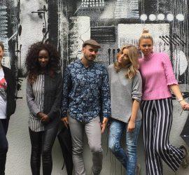 Hoxton Fashion show w Supermalt: Portside Parlour + Fabienne's World