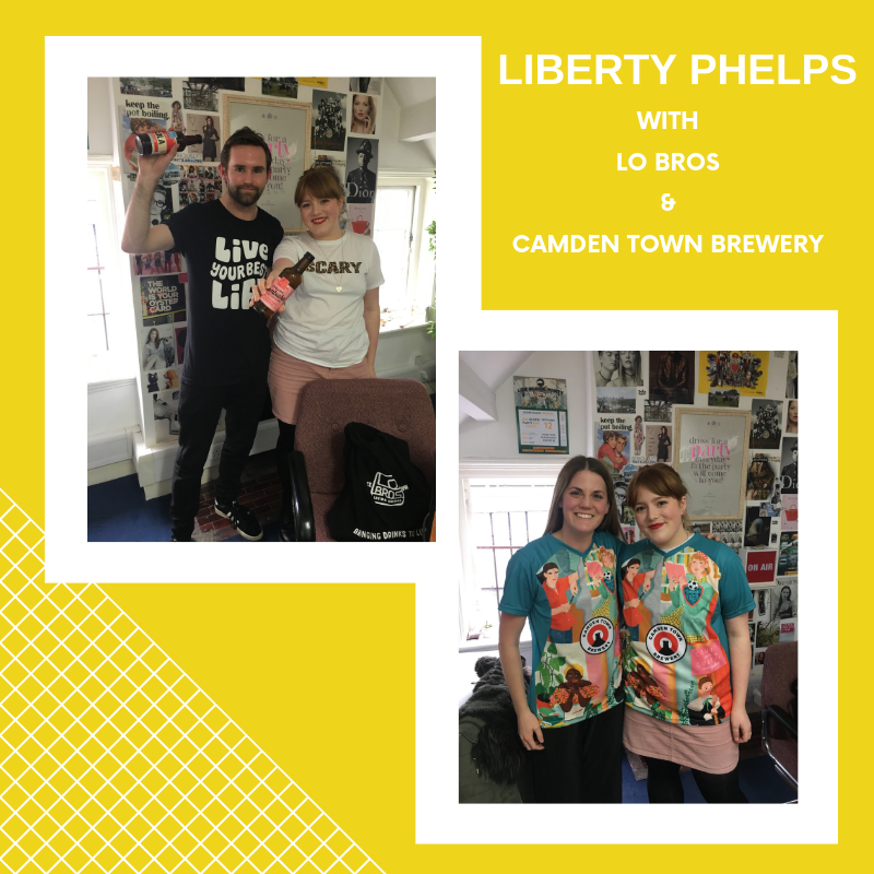 f63bebdaa Liberty Phelps x Lo Bros and Camden Town Brewery - Hoxton Radio